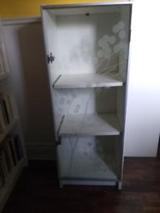Petite étagère Billy avec porte vitrée Ikea