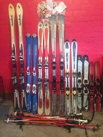 Skis poles and bags (read ad)