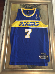 Reebok O'neal Indiana Pacers Jersey Size Xl Hardwood Classic