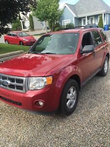 Ford escape xlt 2011 rouge