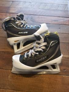 Junior Goalie skates size 1