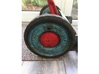 Qualcast B1 1960's vintage push cylinder mower.