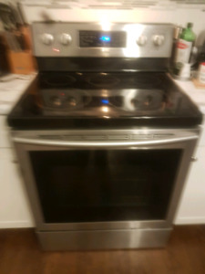 Samsung electric convection stove for sale