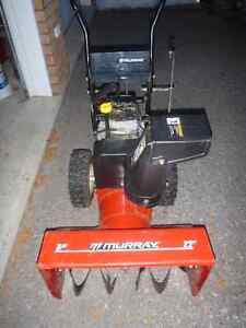 Murray snow blower for parts