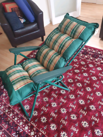 Reclining garden chair one or two available great condition