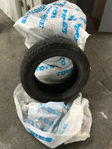 """Gislaved Nord Frost 100 235/55R17 T XL 17"""" Winter Tires at 9/32"""""""