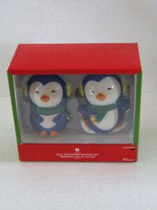 brand new in box penguin theme salt and pepper shaker set London Ontario image 2