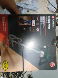 Brand new Parkside Electric Paint & Mortar Mixer