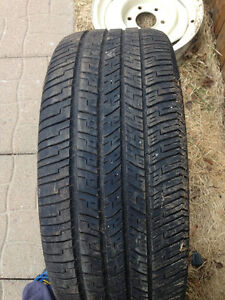 4 235/55/17 Goodyear Eagle RSA in VG condition 80% tread