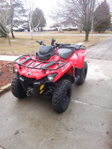 2015 can am outlander 500