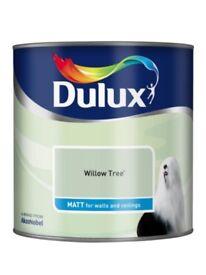 DULUX WILLOW TREE MATT EMULSION PAINT 2.5L