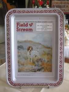 FIELD & STREAM SMALL COLLECTIBLE SERVING TRAY