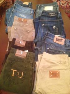 Selling Designer jeans: Emporio Armani, D&G (Dolce and Gabbana),