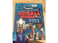 Book- Official English League Football Records 2011