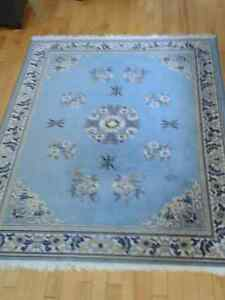 REDUCED Two Matching Carpets 100% Wool