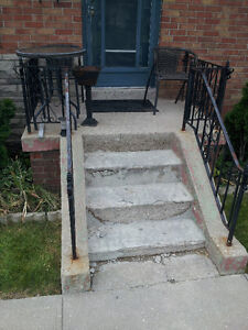 HELP! Porch Falling Apart? Experienced Stone Mason Available