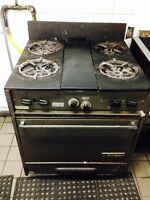 Commercial stove for sale