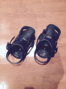 Burton Cartel EST Bindings - BLACK size LARGE ( w/ Hardware)