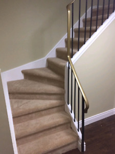 Carpet Installations and supplies. 647-994-4446.
