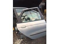 RENAULT SCENIC DOOR PASSENGER DRIVER FRONT BACK REAR 1996-2003 COMPLETE PAINT CODE MV603 MK1