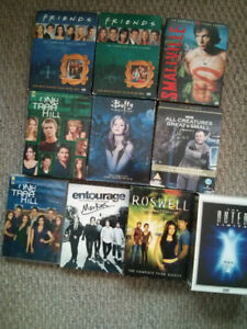 TV Show Seasons on DVD