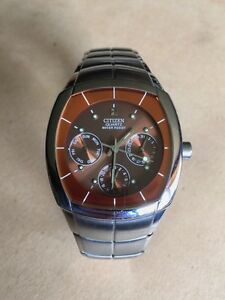 Citizen brand Quartz Watch Brown