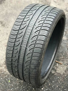 2 Pirelli 225/40 R18 92h & Two 255/35 R18 94H M+S tires.