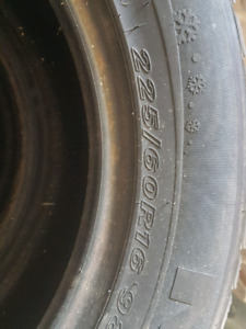 225/60/16 ice and snow tires