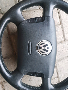Mk4 leather multi function steering wheels