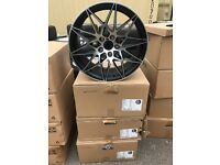 "4 19"" alloy wheels Alloys Rims tyres 5x120 BMW 5 6 7 series d m sort"