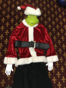 GRINCH COSTUME #4 RETIRED RENTAL QUALITY