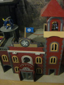 Imaginarium Police Station Fire House Combo - Good Condition $60