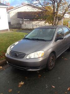 2003 Toyota Corolla - 2 of them for sale. $500 each