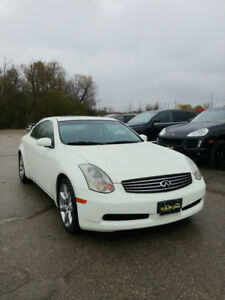 2003 Infiniti G35 Coupe-ONLY 75k KMs - Safety and Warranty incl.