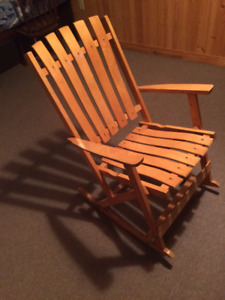 Folding Adult Rocking Chair
