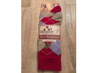 Ladies socks (2 pairs) brand new