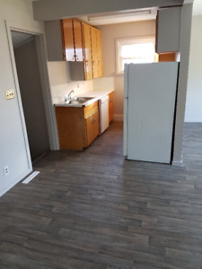 Main floor of house, recently renovated. Immediate possesion!