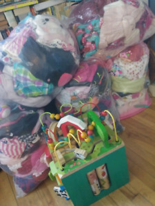 LARGE lot of baby girl stuff!