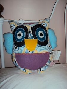 owl pillow brand new