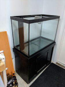 Aquarium 65g Drilled with corner overflow (36W 24H 18D)