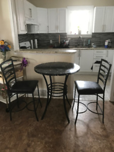 Kitchen Chairs and table
