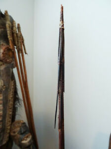 OCEANIC Solomon Islands BARBED SPEAR bamboo TRIBAL ART fishing