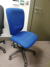 Great condition adjustable office chairs