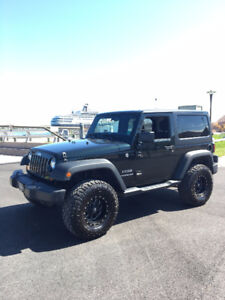 2012 Jeep Wrangler Sport Dual Tops with Air ONLY 51,290 kms