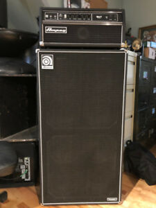Ampeg SVT Classic bass amp and cabinet