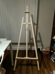5.5' tall DeSerres easel never used ready assembled