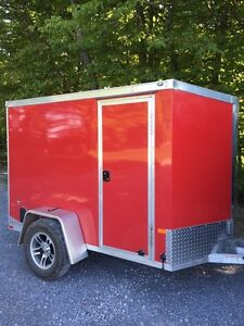 5x8 Aluminum Frame enclosed  trailer
