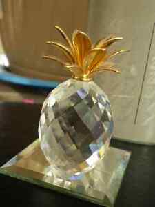 "Swarovski Crystal Figurine - "" Pineapple "" 7507NR Kitchener / Waterloo Kitchener Area image 6"