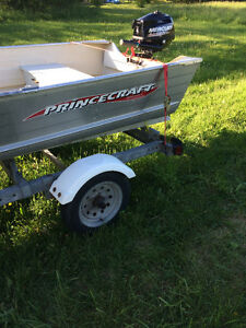 12ft Prince Craft,Motor and Trailer
