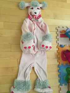 Halloween Costume Pink Poodle Size 2-3 years